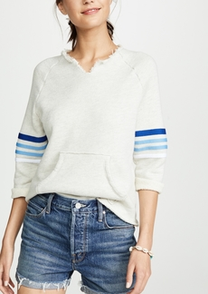 Mother Denim MOTHER The Square Tear Frayed Tee