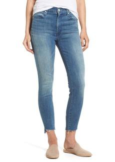 Mother Denim MOTHER The Stunner High Rise Ankle Fray Jeans (Good Girls Do)