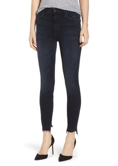 Mother Denim MOTHER The Stunner High Waist Fray Ankle Skinny Jeans (Last Call)