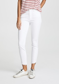 Mother Denim MOTHER The Stunner Zip Ankle Step Fray Jeans