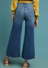 4a2518e9b2 ... Mother Denim MOTHER The Swooner Roller Ultra High-Rise Cropped Jeans ...