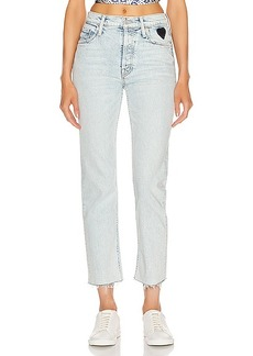 Mother Denim MOTHER The Tomcat Ankle Fray