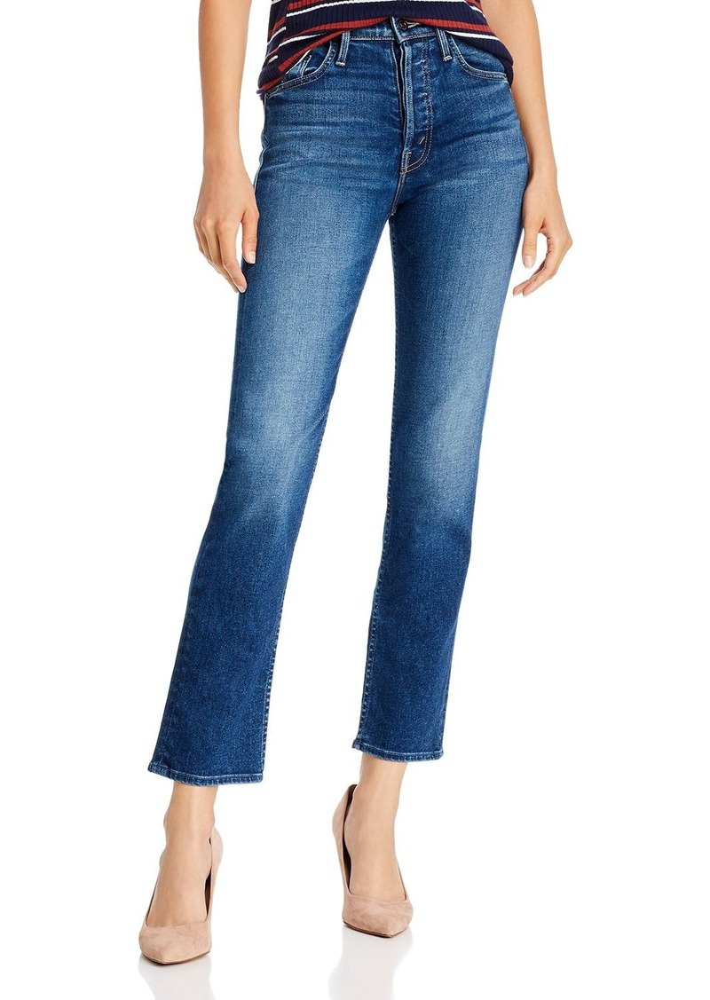 Mother Denim MOTHER The Tomcat Ankle Straight-Leg Jeans in Night Clubbing