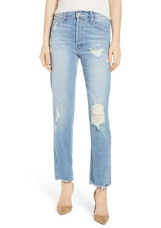 Mother Denim MOTHER The Tomcat Ankle Straight Leg Jeans (Quite Contrary)