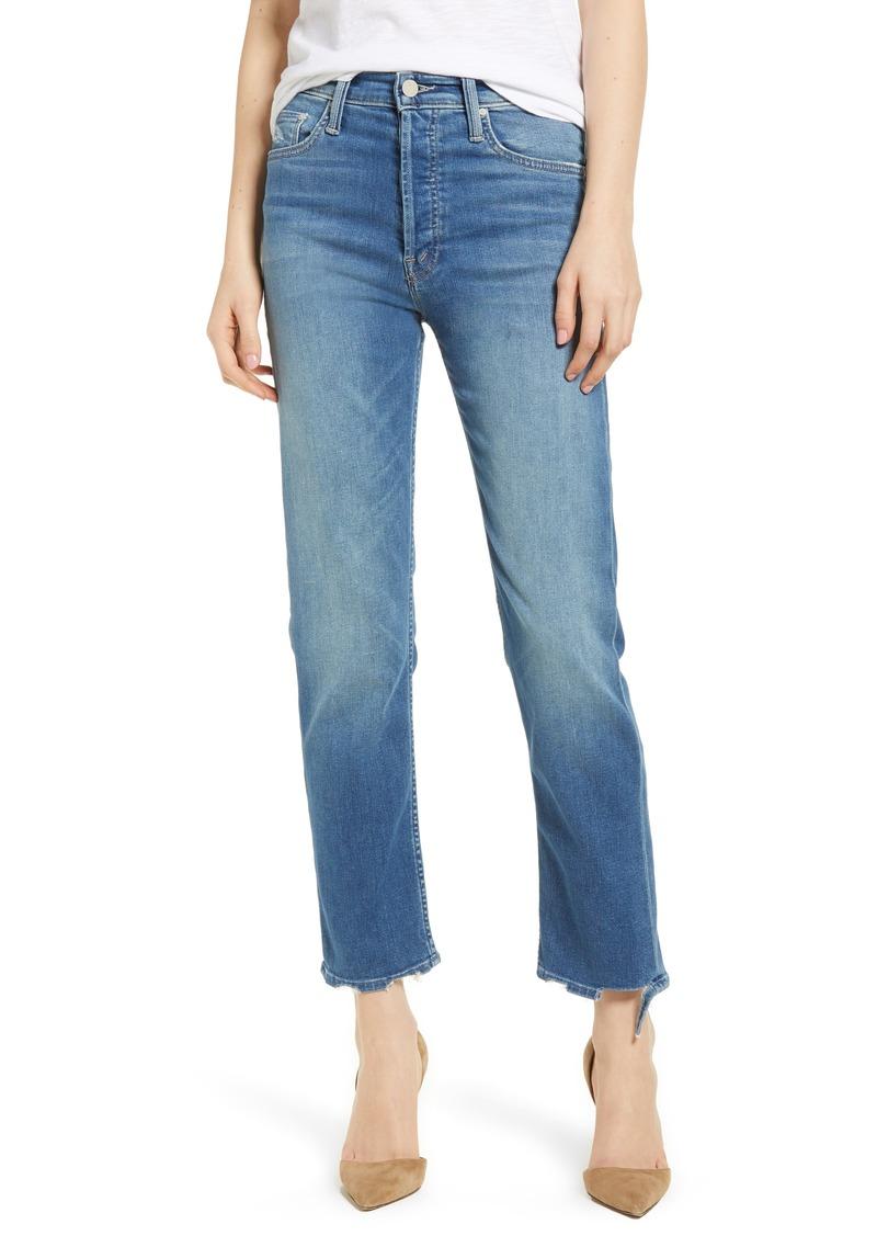 9b2ada8301cf1 Mother Denim MOTHER The Tomcat Ankle Straight Leg Jeans (Tequila  Mockingbird)