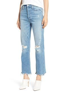 Mother Denim MOTHER The Tripper Crop Bootcut Jeans (Misbeliever)