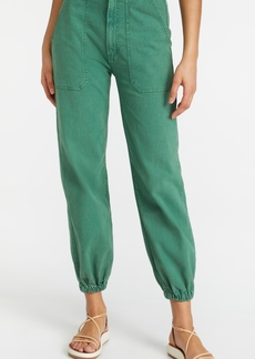 Mother Denim MOTHER The Wrapper Patch Springy Ankle Pants