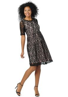 Mother Denim Motherhood Maternity Lace A-Line Dress