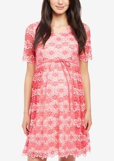 Mother Denim Motherhood Maternity Lace Dress
