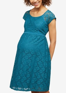 Mother Denim Created for Macy's Motherhood Maternity Lace Dress