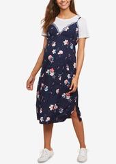 Mother Denim Motherhood Maternity Layered-Look Dress