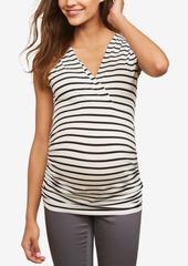 Mother Denim Motherhood Maternity Ruched Top