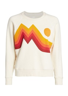 Mother Denim Over The Woods Square Crewneck