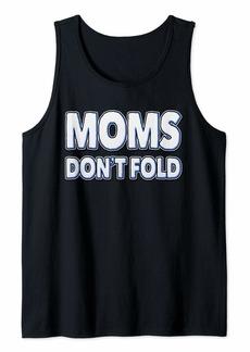 Mother Denim Poker Love Shirt Gift For Mother's Tank Top