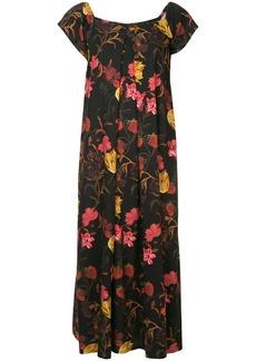 Mother Denim Rachel floral-print dress