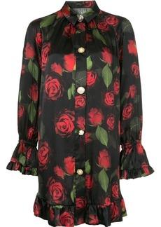 Mother Denim rose printed dress
