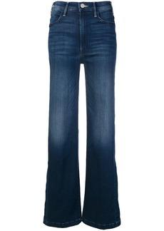 Mother Denim side slit flared jeans