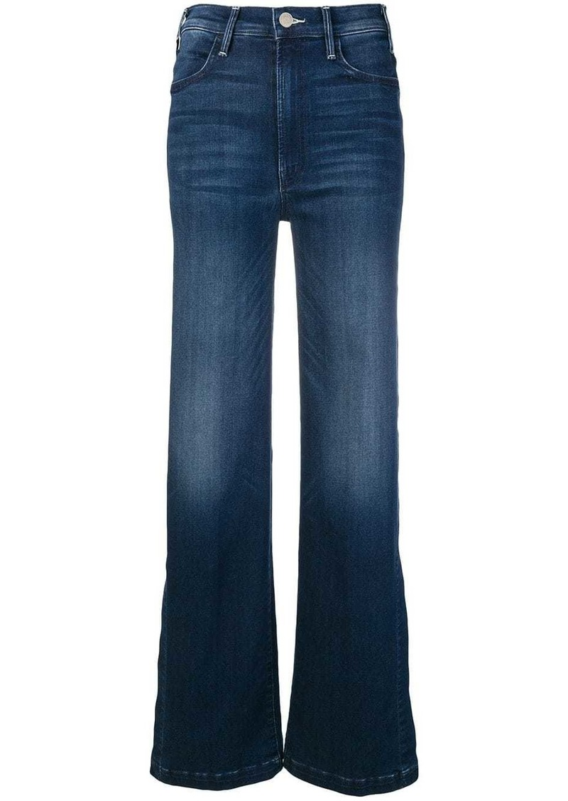 Mother Denim side slit flared jeans
