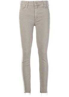Mother Denim side stripe skinny jeans