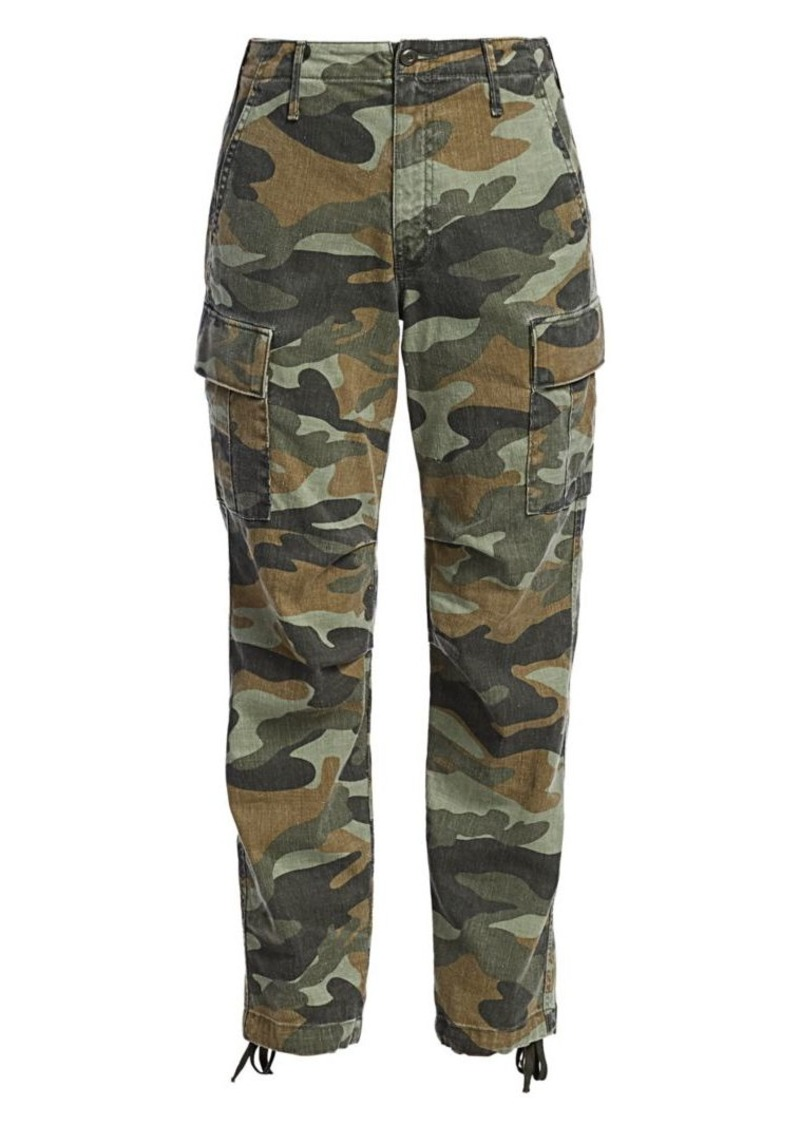 Mother Denim Sir Yes Sir Camo Joggers