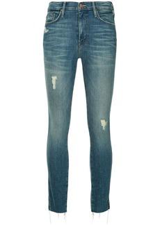 Mother Denim skinny distressed jeans
