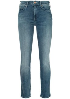 Mother Denim slim faded jeans
