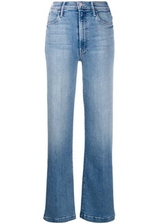 Mother Denim slit bootcut jeans