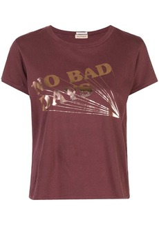 Mother Denim slogan print T-shirt