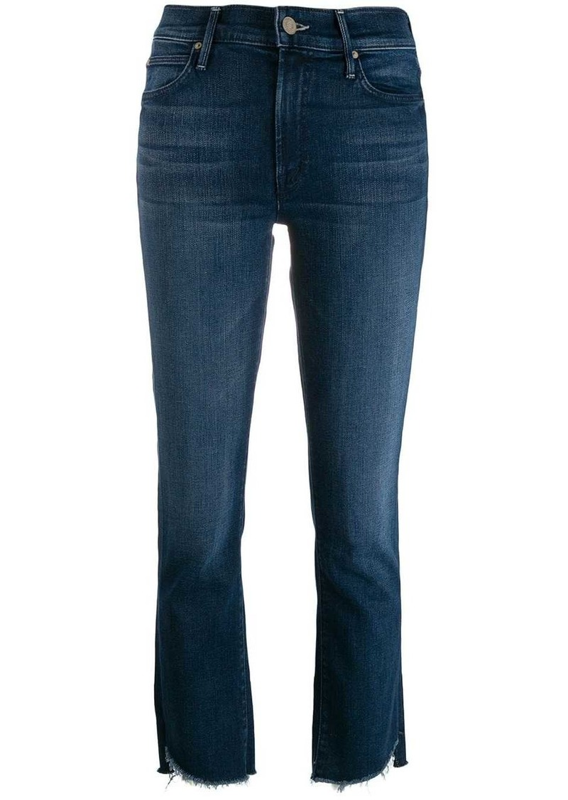 Mother Denim straight leg jeans