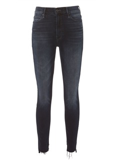 Mother Denim Stunner Zip Two Step Fray Jeans