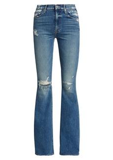 Mother Denim Super Cruiser High-Rise Flare Jeans