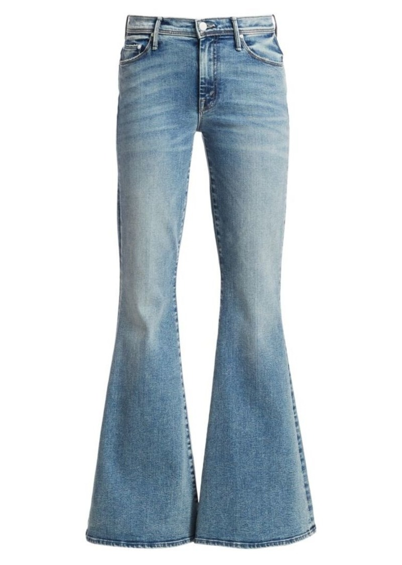 Mother Denim Super Cruiser High-Rise Flare Jeans