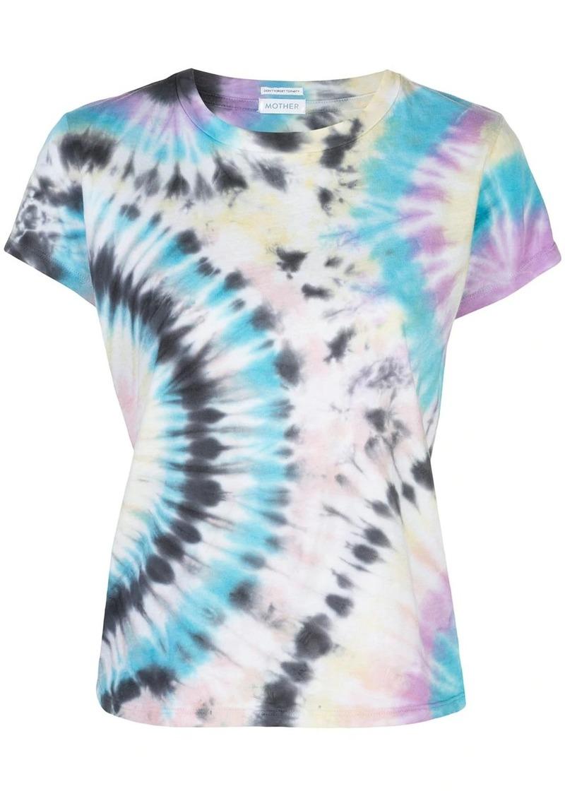 Mother Denim Swirling Secrets print T-shirt