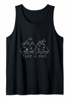 Mother Denim Take a Hike Apparel - Cute Mountain Scenery in Nature Tank Top