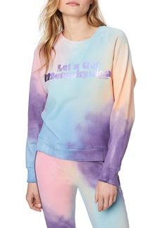 Mother Denim The Champ Crop Sweatshirt