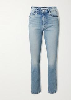 Mother Denim The Dazzler High-rise Straight-leg Jeans