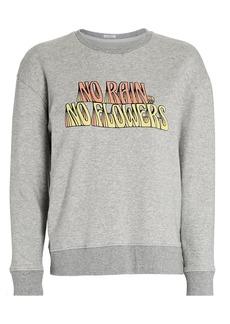 Mother Denim The Drop Warm-Up Sweatshirt