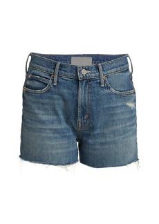 Mother Denim The Dutchie Denim Shorts