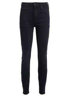 Mother Denim The High-Waist Looker Skinny Jeans