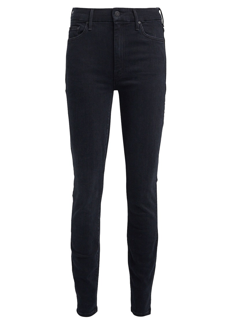 Mother Denim The High-Waist Looker Skinny Jeans