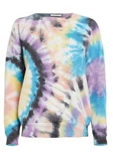 Mother Denim The Hugger Tie-Dye Sweatshirt