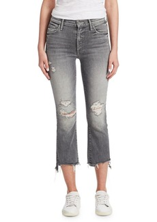 Mother Denim The Insider Distressed Jeans