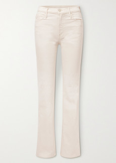 Mother Denim The Kick It High-rise Bootcut Jeans