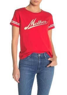 Mother Denim The Lil Goodie Goodie Crew Neck T-Shirt