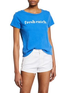 Mother Denim The Little Goodie Goodie Graphic Tee