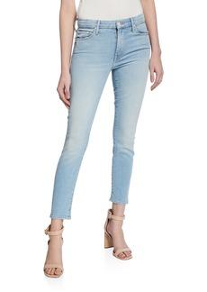 Mother Denim The Looker Crop Skinny Jeans