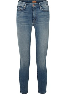 Mother Denim The Looker Cropped High-rise Skinny Jeans