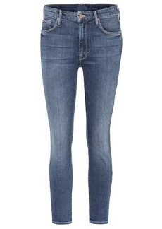 Mother Denim The Looker cropped skinny jeans