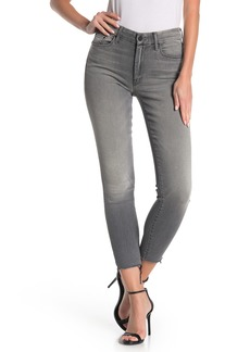 Mother Denim The Looker Frayed Ankle Jeans