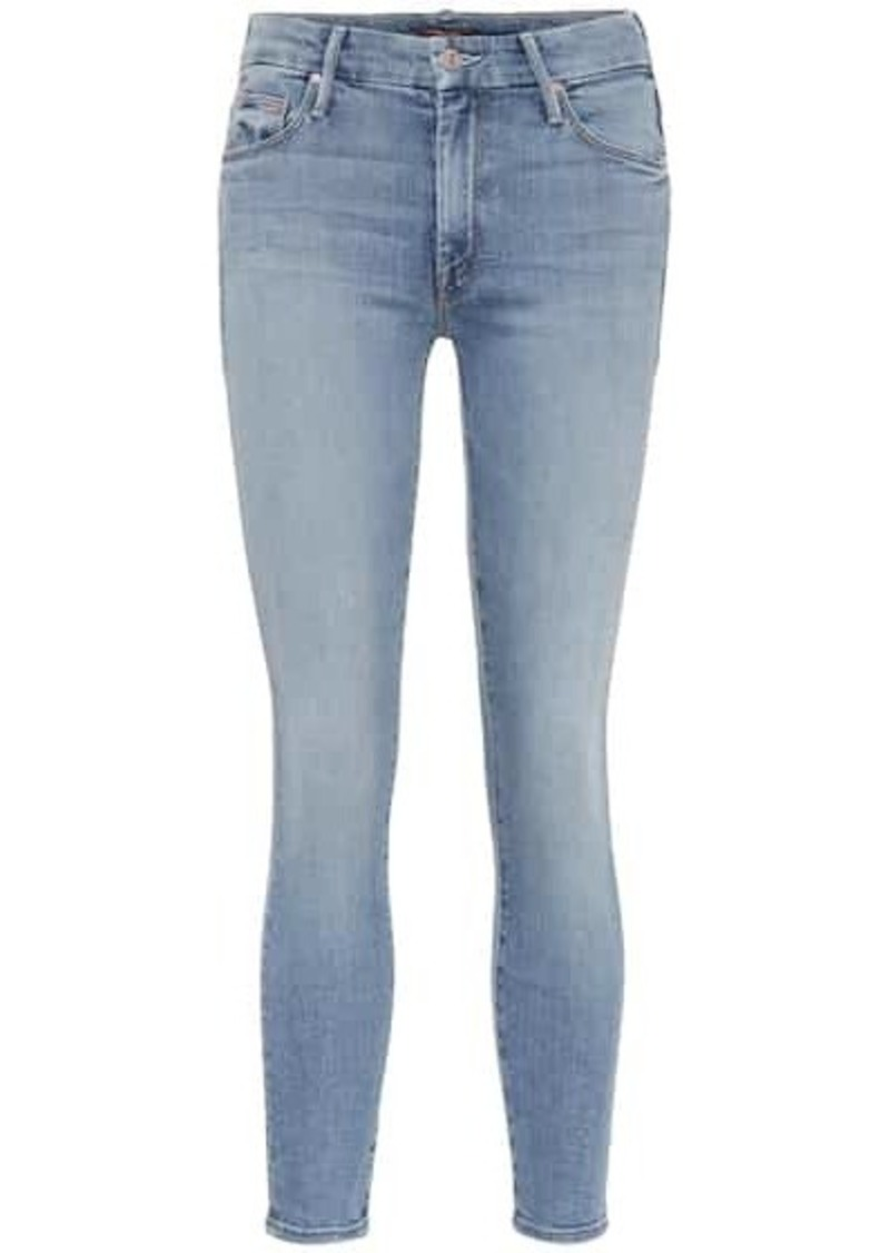 Mother Denim The Looker high-rise skinny jeans